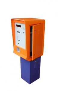 ticket parking kiosk